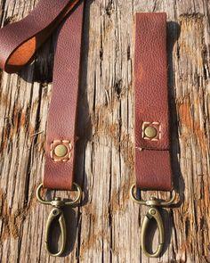 Handmade Leather Keychain, Handstitched, Antique Brass, Rustic Handmade Leather, Leather Craft, Leather Keychain, Leather Working, Hand Stitching, Antique Brass, Belt, Rustic, Antiques