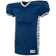Augusta Sportswear Boys' Dual Threat Jersey L Purple/White Digi, Boy's, Size: Large Football Uniforms, Sports Uniforms, Team Uniforms, Football Jerseys, Football 101, Football Field, Augusta Sportswear, Camo Print, Custom Football