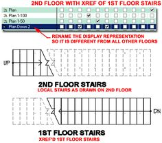 Architectural Drawings Stairs Floor Plan  #stairs Pinned by www.modlar.com