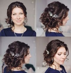 Tonya Pushkareva Long Wedding Hairstyle for Bridal via tonyastylist/ http://www.himisspuff.com/long-wedding-hairstyle-ideas-from-tonya-pushkareva/25/
