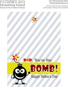 50 Best Father's Day Gift Ideas and Free Printables | Craftionary