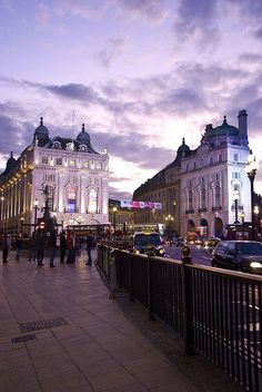Picadilly Circus, London, England.