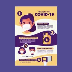 Coronavirus prevention poster   Free Vector #Freepik #freevector #poster #health #print #virus Graphic Design Lessons, Poster Design Layout, Graphic Design Brochure, Graphic Design Books, Research Poster, Infographic Examples, Medical Brochure, Business Poster, Information Poster