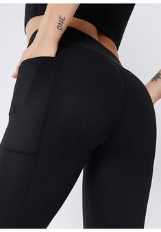 Stretchy Anti-sweat Fitness Yoga Leggings Yoga Leggings, Yoga Pants, Leggings Are Not Pants, Sweat Workout, Gym Workouts, Yoga Fitness, Sweat Fitness, Workout Leggings With Pockets, Tights