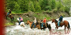 Montana Dude Ranch Vacation - A Glacier National Park Guest Ranch
