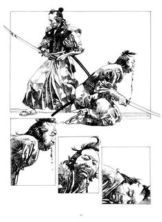 Yuck!  What is it about samurai that stirs our souls?  It was a brutal way to live - and die...  Is it the same sense of being removed from our crazy lives, for just a little while? I like the idea that if someone wronged you, you could do something about it.  You can't do that today...