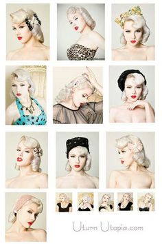 The many faces of pinup