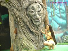 :DISTherapy: 15 Days to 15 Years- Animal Kingdom 2008; Pocahontas and Her Forest Friends with Mouse Fan Diane.