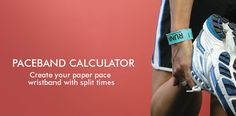 Half marathon coming up this weekend. Runner's World Paceband Calculator - Create your own paper pace wristband with split times Gifts For Marathon Runners, Fitness Tips, Health Fitness, First Marathon, Runner Girl, Runners World, Running Workouts, Race Day, Calculator