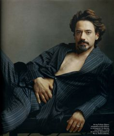 Robert Downey Jr photographed by Annie Leibovitz, 2006