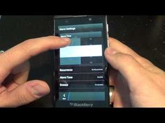 BlackBerry 10 Clock, TImer, and World Clock