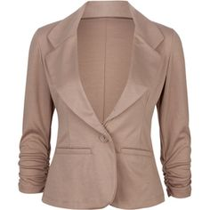 ASHLEY One Button Womens Blazer I want a black Jacket and I can't decide which is the best one. But then trying to actually find the RIGHT one in our shops is near impossible.