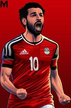 Salah World Cup wallpaper by gemyy - - Free on ZEDGE™ Football Icon, Football Art, World Football, Mohamed Salah Egypt, Pop Art Face, Soccer Art, Ronaldo Real Madrid, Latest Football News, Mo Salah