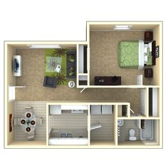 700 sq ft apartment google search studio 1 project 3 pinterest