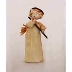 Corn husk doll - angel