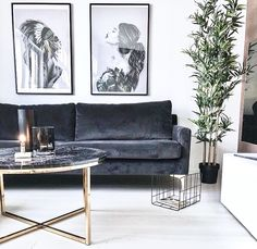 7 Luxurious and bohemian living rooms to dream about (Daily Dream Decor) - Decoration For Home Living Room Sofa, Home Living Room, Apartment Living, Interior Design Living Room, Living Room Designs, Living Room Furniture, Living Room Decor, House Furniture, Rustic Furniture
