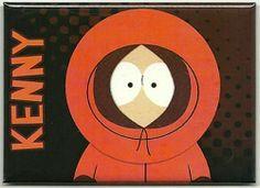 South Park Kenny Metal Refrigerator Magnet