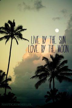 sun + moon + love quote
