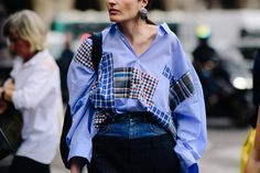 Irina Linovich | Paris via Le 21ème Paris Street, Catwalk, Outfit Of The Day, Cool Style, Street Style, Style Inspiration, South Africa, Ireland, Ootd