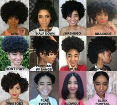 128 Best Easy Natural Hairstyles Images Natural Hair Styles