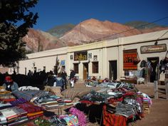Mercado en Purmamarca