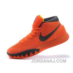 Nike Kyrie Irving 1 Orange Gray Basketball Shoes