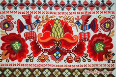 Oleksandra Telyzhenko - Kazak Baroque embroidery