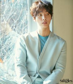 """Yoon Si Yoon is in the March issue of Singles, check it out! He also has a new drama beginning March called """"Grand Prince"""" and we can't wait. He'll play a Prince whose o… Dong Gu, Jason King, Yoon Shi Yoon, Grand Prince, Ahn Jae Hyun, Mr Perfect, Park Min Young, Kdrama Actors, Korean Wave"""
