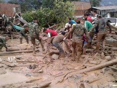 Aumenta a 154 el número de muertos por desbordamientos de ríos en Colombia
