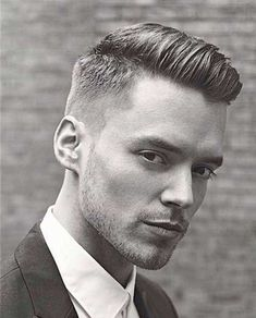 Best Hairstyles , 9 Great Hairstyles for Men Ideas : haircuts for men with thick hair Hipster Hairstyles, Cool Hairstyles For Men, Undercut Hairstyles, Haircuts For Men, Straight Hairstyles, Men's Hairstyle, Men's Haircuts, Short Hair Cuts, Short Hair Styles