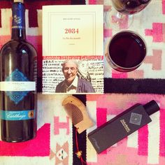 How to deal with the end of the world in Tunisia...#2084 #sansal #marselan #tunisianwine #oud #santal #wineoclock #winelover #winteriscoming #hedonism #TunisiaRising #carpediem #liveauthentic #love #perfume #oriental #boualemSansal #gallimard