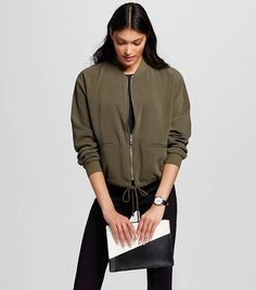 11d93ff214b 45 Hottest Ways To Wear Bomber Jacket For Women Ideas