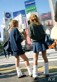 Erica Morton's media statistics and analytics Gyaru Fashion, Harajuku Fashion, Japan Fashion, Punk Fashion, School Uniform Fashion, Japanese School Uniform, Sailor Mars Cosplay, Frilly Socks, Kids Uniforms