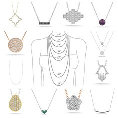 Which @Dana Curtis Curtis Rebecca  necklace and length best fits you?!