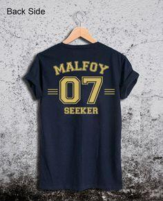 Draco Malfoy 07 Shirt Harry Potter Unisex Tshirt by Ridaar on Etsy