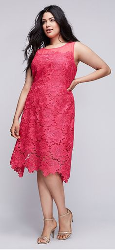 Pretty pink lace dress! Look and feel sexy in any outfit with quality shape wear from hookedupshapewear.com!