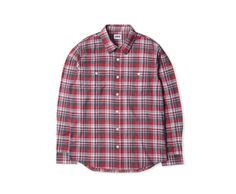 Labour Shirt Red / Grey
