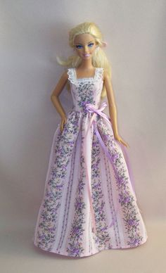 Handmade Barbie Doll ClothesPink and by PersnicketyGrandma on Etsy, $7.00