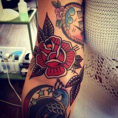 Tatto vieja escuela