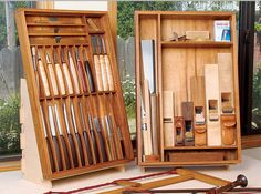 Yeung Chan found that wall storage wasn't enough for his beloved handmade handtools, especially on installation jobs. So he came up with his own solution, a portable toolbox for the essentials...