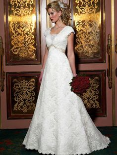 modest wedding dresses wd238-wedding dresses