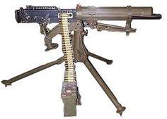 Machine Guns - World war one weapons
