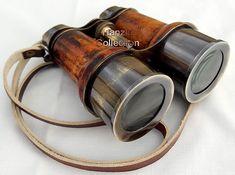 Antique Brass Binocu