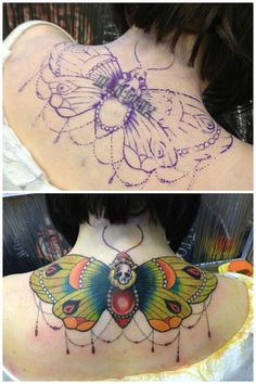 By Aaron (guest artist) at Timeless Tattoo, Glasgow.
