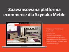 Zaawansowana platforma #ecommerce dla Szynaka Meble.