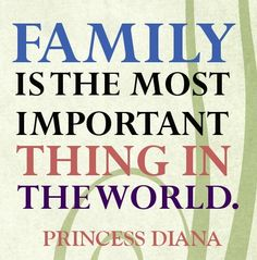Family is the most important. 16 Lovely Quotes About Family. - mobile9.com