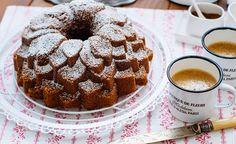 Receta para preparar un bundt cake de café