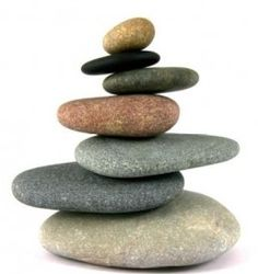 stacking stones in the rock area!!!!!