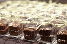 Cute brownie favors