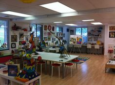 Children's art studio.